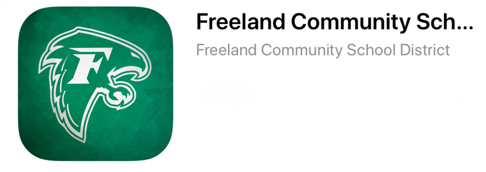 Freeland Community School District App